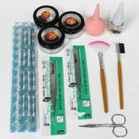 Wholesale False Eyelashes Eyelash Extension Kit with curlers rods NA169