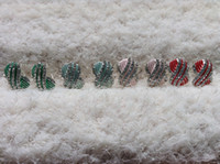 Wholesale 2015 New European American Fashion Multicolor Rhinestone Stud Earrings Vintage Candy Color Geometry Female Earrings Weman s Accessories