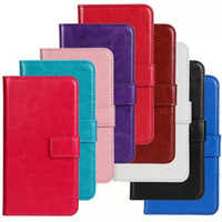 Wholesale Buy New Crazy Horse Pattern Leather PU Case Wallet Pouch for Samsung Galaxy S5 Mini Kickstand Holster Shell With Credit Card Holder DHL Free