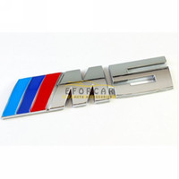 50x M5    M BLUE DARK BLUE RED LOGO BADGE TRUNK AUTO EMBLEM ...