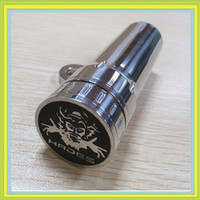 Hades Mod  510 Thread stainless steel and brass 2014 newest mechanical 26650 mod stainless steel hades mod clone E Cigarette Hades Mod Battery Body for 510 Thread atomizer tanks