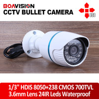 Wholesale 1 quot HDIS TVL cctv cmos board HD8050 waterproof IR mm OSD Menu security mini Bullet camera
