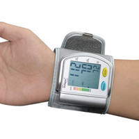 Wholesale Digital LCD Automatic Wrist Blood Pressure monitor Pulse Monitor