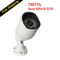"Cheap 700TVL Bullet Camera Best 1/3"" SONY EXVIEW HAD CCD II 36pcs of 5mm Infrared IR Led Light CCD Camera"