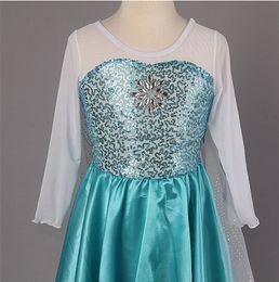 Wholesale Frozen Dress Elsa amp Anna Summer Dress For Girl Hot Princess Dresses Brand Girls Dress Children Clothing