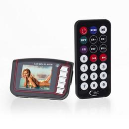 """Wholesale Car Cigarette Player - Wireless FM Transmitter Mp3 MP4 Player USB SD Auto Car Cigarette Lighter Socket 1.8"""" LCD Car MP3 MP4 Player FM Transmitter SD Remote Black"""