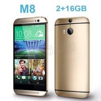 aluminum english - Aluminum Alloy HDC One M8 Quad Core MTK6582 GHz GB GB Android KitKat G WCDMA Single nano Sim MP Camera Smart Phone