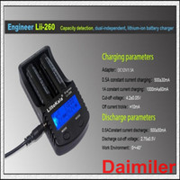 Wholesale Best quality Liitokala lii LCD Battery Charger with screen Detection of Lithium Battery Capacity Internal Resis