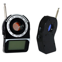 Wholesale Mini Anti detector full band Detection Full Range Anti Eavesdrop Device Camera scanner camer finder wireless signal CC Free DHL Factory