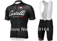 Wholesale 2015 castelli cycling clothing Cycling bib shorts set castelli cycling jersey Clothing jacket spring Castelli Cafe