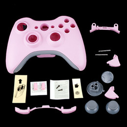 Wholesale Pink Wireless Controller Full Shell Faceplate Case for XBOX F1280RP