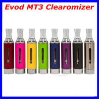 atomizer   Evod MT3 Clearomizer BCC MT3 Kanger Atomizer 2.4ml Bottom Coil Tank Cartomizer for EGO-C EGO-W EGO-T Series E-Cig various colors
