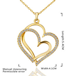 Wholesale - - lowest price Hot Sell 18k gold plated Necklace TN584