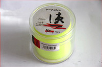 Wholesale HOT Fluorescent fishing line Made in Japan ft m Fluorescent yellow Super strong nylon fishing line