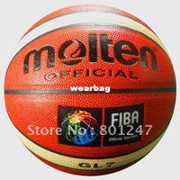 Wholesale Molten Basketball GL7 Size7 basketball PU Materia Free with ball pump net bag pins