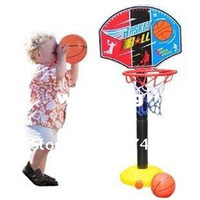 basketball hoop children - Adjust Basketball Hoop Backboard Set and Ball Kids Children height cm Best selling