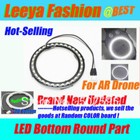 Wholesale eBest LED Light Kit for i phone Parrot Ar Drone bottom round part fit well multicopter wholesales amp retails