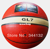 Wholesale Molten Basketball Ball GL7 size molten basketball ball indoor and outdoor FIBA basketball with free gift