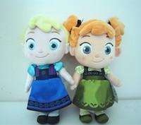 Wholesale Newest frozen dolls cm inch elsa anna toy doll action figures plush toy frozen dolls