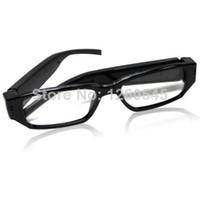 Less than 2'' Less than 10x 720P (HD) FULL HD 720P Ultrathin Spy Camera Glasses DVR Mini DV Pinhole Spectacles Hidden Video Recorder Eyeware Glasses