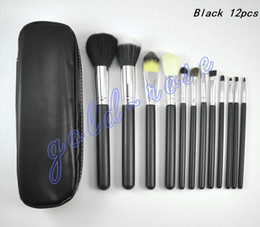 Wholesale HOT Makeup Brushes pieces Professional Makeup Brush set Kit set FREE GIFT