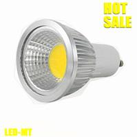 Wholesale x10 unit Dimmable Led COB Lamp W W W E27 GU10 E14 GU5 V MR16 V Led Light Spotlight led bulb lighting bulbs