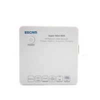 Wholesale Mini NVR ESCAM K104 Ch P P P Network Video Recorder Support Onvif G Wifi for IP Camera