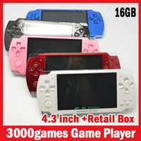 Wholesale Factory wholesales GB inch game console portable mp5 game player built in game player GB