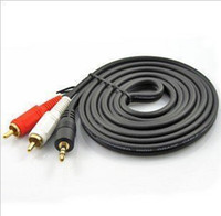 Wholesale Computer supplies m one of two AV audio cable to Dual RCA cord one point two audio cables