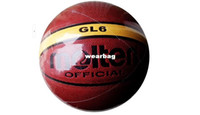 Footballs Yes molten Wholesale-407-Brand MoltenGL6 Basketball Ball High Quality PU Material Official Ball Size 6 Sports Match Basketball indoor and outdoor