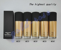 Wholesale In stock High quality HOT NEW Makeup STUDIO FIX FLUID SPF Foundation Liquid ML gift
