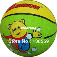 Cheap Wholesale-407-NEW Standard Size3 Rubber Kid Basketball Hight Quality Sports Child Basketball Ball Indoor And Outdoor Children's Toys