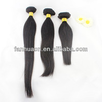 Wholesale High Quality A Products Natural Unprocessed Peruvian Straight Virgin Hair Extention