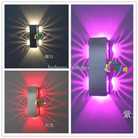Shadeless Modern Wall Mouted 85-265V 2w LED Lighting Indoor Wall KTV Decorate Lights Lamps Luminaire Sconce Livingroom Bedroom art deco wall sconce lighting