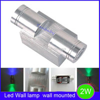 Wholesale Aluminum led wall lamp Up and down W led spot light Epistar high power led light indoor and outdoor decortion