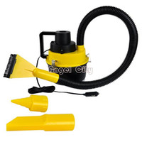 Vacuum Cleaner  New 8743# New Portable Car Dust Cleaner Vacuum Cleaner Collector Inflator Air Compressor Wet&Dry Free Shipping 8743 b011