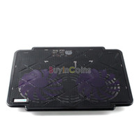 Wholesale COOLCOLD THIN ICE Generation Ultral thin USB Cooler Fan Pad for Notebook PC
