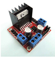 Parts Figure  L298N motor driver board module Smart Car Robot Parts H-bridge driver stepper motor accessories