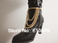 Wholesale New Winter Style Chunky Chain Bracelet Heel Shoe Boots Ankle Chain Body Anklet Bracelet Foot Jewelry