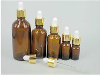 acid etched glass - Amber Glass bottle Essential Oil Bottles White Glass Eye Dropper Glass Dropper Top ml