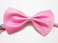 Wholesale Cheaper bow ties Women Men s Bow Tie colors for choice Free Fedex DHL Shipping