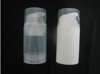 lotion containers - 100ml Transparent airless pump bottle or lotion bottle can used for Cosmetic Sprayer or Cosmetic Container DHL Free