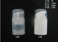 Wholesale 100ml Transparent airless pump bottle or lotion bottle can used for Cosmetic Sprayer or Cosmetic Container DHL Free