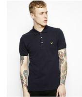 Men 100% Polo Wholesale - fashion men's cotton short-sleeved summer Eagle lovers cotton T-shirt men's short sleeve cotton pique polo shirt t-shirt T-shirt