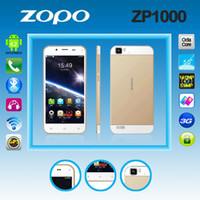 WCDMA Octa Core Android In Stock ZOPO 1000 ZP1000 5 Inch FHD MTK6592 3G Octa Core 1.7GHZ 1GB RAM 16GB ROM Unlocked Android 4.2 Smart Mobile Cell Phone 14MP Dual SI