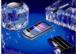8GB Digital MP4 player Black diamond MP4 player 1.8inch FM ebook recorder video photo nice MP4 Free shipping 1pcs