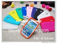 Cheap 1000pcs lot * New Soft Silicone Rubber Case Skin Cover For Samsung Galaxy S3 Mini i8190