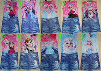TuTu baby night dress - New product New Summer Girls Frozen dress Baby Anna s and Elsa s dresses Kids Printed night dress Casual Clothing
