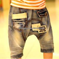 Boy jeans pants - Short Jeans Boys Clothes Ripped Jeans Summer Shorts Kids Jeans Blue Jeans Kids Pants Children Jeans Boy Jeans Child Clothing Denim Jeans