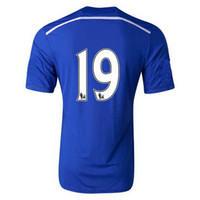 2014- 15 Home Blue 19 Diego Costa Soccer Jersey , Customized J...